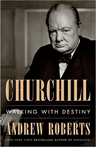 Churchill Walking with Destiny