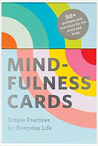 Mindfulness Cards Simple Practices for Everyday Life (Daily Mindfulness, Daily Gratitude, Mindful Meditation)
