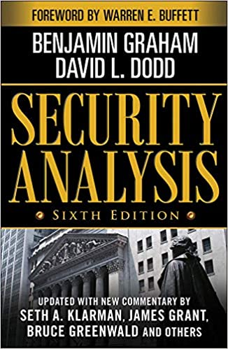 Security Analysis Sixth Edition, Foreword