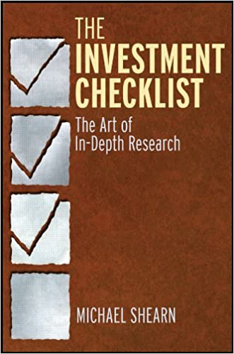 The Investment Checklist The Art of In-Depth Research