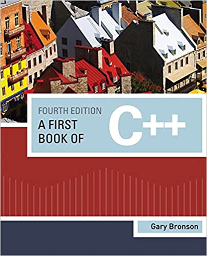 A First Book of C++ (Introduction to Programming)