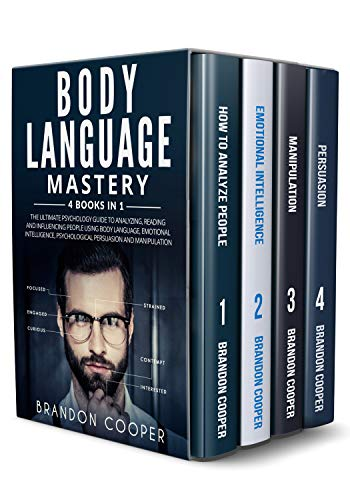 Body Language Mastery 4 Books in 1