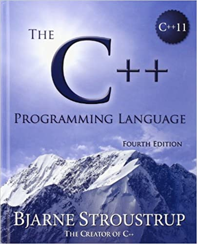 C++ Programming Language (hardcover)