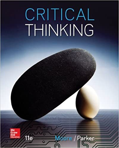 Critical Thinking 11th Edition