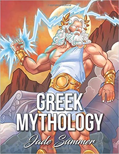 Greek Mythology An Adult Coloring Book with Powerful Greek Gods