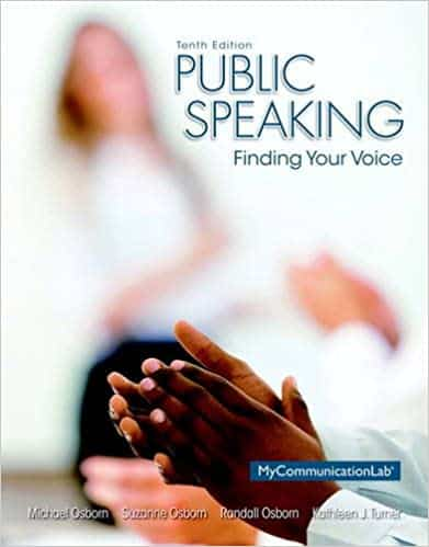 Public Speaking Finding Your Voice (10th Edition)