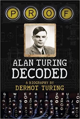 Prof Alan Turing Decoded