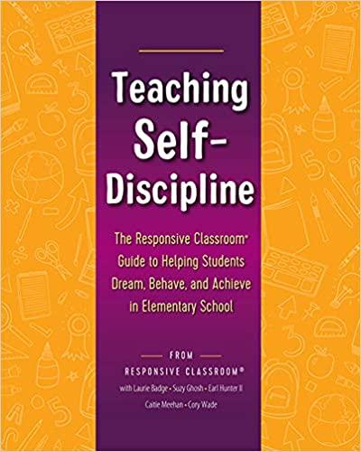 Teaching Self-Discipline